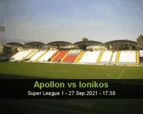 Apollon vs Ionikos