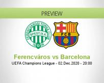 Ferencváros vs Barcelona