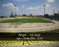 Argeș Iaşi betting prediction (08 March 2021)
