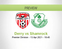 Derry Shamrock betting prediction (13 April 2021)