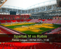 Spartak M Rubin betting prediction (28 February 2021)