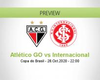Atlético GO vs Internacional