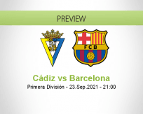 Cádiz vs Barcelona