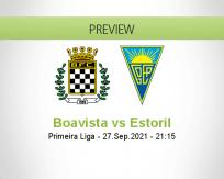 Boavista Estoril betting prediction (27 September 2021)