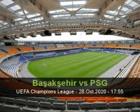 İstanbul Başakşehir PSG betting prediction (28 October 2020)