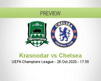 Krasnodar Chelsea betting prediction (28 October 2020)