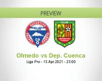 Olmedo Dep. Cuenca betting prediction (13 April 2021)