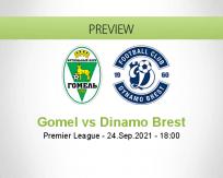 Gomel Dinamo Brest betting prediction (24 September 2021)