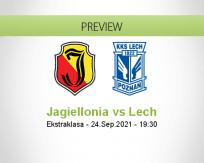 Jagiellonia Lech betting prediction (24 September 2021)