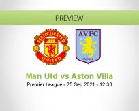 Man Utd vs Aston Villa