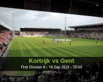 Kortrijk Gent betting prediction (19 September 2021)