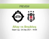 Altay Beşiktaş betting prediction (24 September 2021)