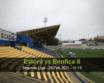 Estoril Benfica II betting prediction (28 February 2021)