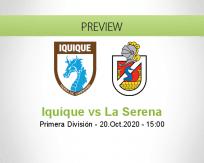 Deportes Iquique La Serena betting prediction (20 October 2020)