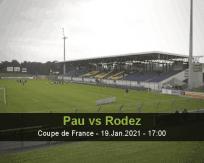 Pau Rodez betting prediction (19 January 2021)