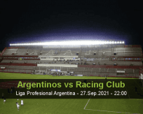 Argentinos Racing Club betting prediction (27 September 2021)