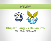 Shijiazhuang Ever Bright vs Dalian Pro