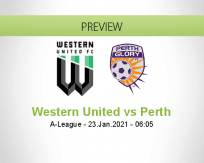 Western United Perth betting prediction (23 January 2021)