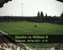 Sparta Willem II betting prediction (28 February 2021)