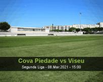 Cova Piedade Viseu betting prediction (08 March 2021)