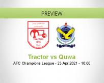Tractor Quwa betting prediction (23 April 2021)