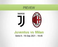Juventus Milan betting prediction (19 September 2021)