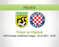 Tobol vs Hajduk