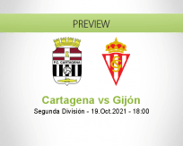 Cartagena Gijón betting prediction (20 October 2021)