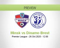 Minsk vs Dinamo Brest
