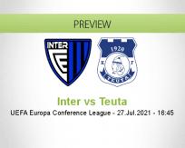 Inter vs Teuta
