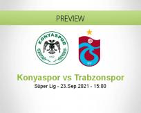 Konyaspor Trabzonspor betting prediction (23 September 2021)