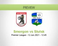 Smorgon vs Slutsk