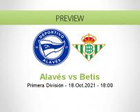 Alavés Betis betting prediction (18 October 2021)