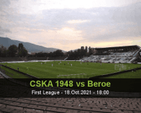 CSKA 1948 Beroe betting prediction (18 October 2021)