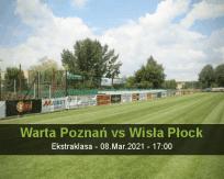 Warta Poznań Wisła Płock betting prediction (09 March 2021)