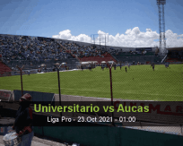 Universitario Aucas betting prediction (23 October 2021)