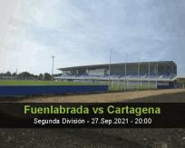 Fuenlabrada Cartagena betting prediction (27 September 2021)
