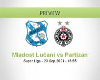 Mladost Lučani Partizan betting prediction (23 September 2021)