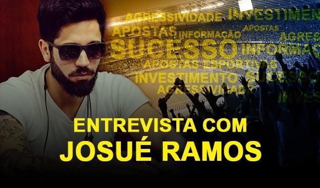 Entrevista com o Apostador Profissional Josué Ramos