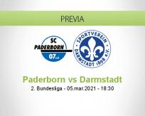 Pronóstico Paderborn Darmstadt (05 marzo 2021)