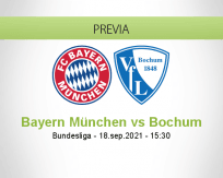Bayern München vs Bochum