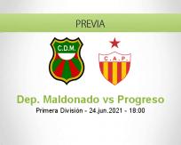 Pronóstico Dep. Maldonado Progreso (24 junio 2021)