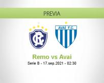 Pronóstico Remo Avaí (16 septiembre 2021)