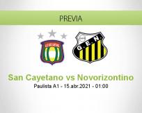 Pronóstico San Cayetano Novorizontino (14 abril 2021)