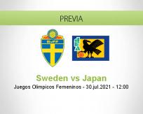 Pronóstico Sweden Japan (30 julio 2021)