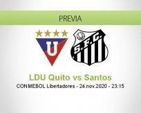 LDU Quito vs Santos