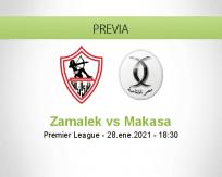 Pronóstico Zamalek Makasa (28 enero 2021)