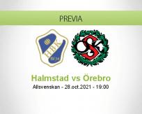 Pronóstico Halmstad Örebro (28 octubre 2021)