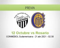 Pronóstico 12 Octubre Rosario (20 abril 2021)