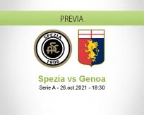 Pronóstico Spezia Genoa (26 octubre 2021)